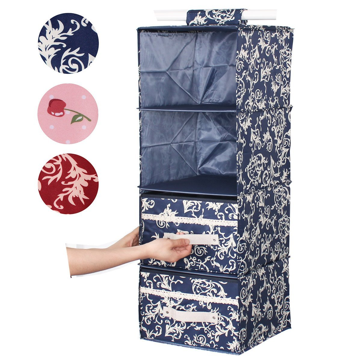 20pcs Dust Cover Garment Storage Organizer Bag Wardrobe-Hanging-Clothing-Bag.UK